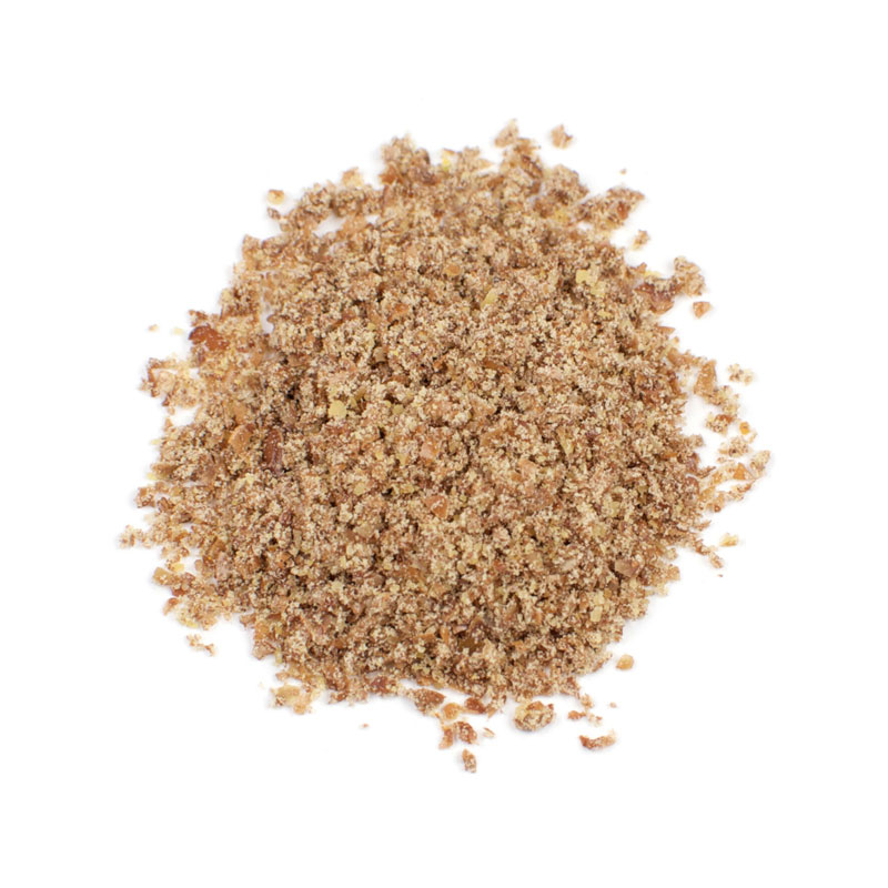 GROUND BROWN FLAX SEED