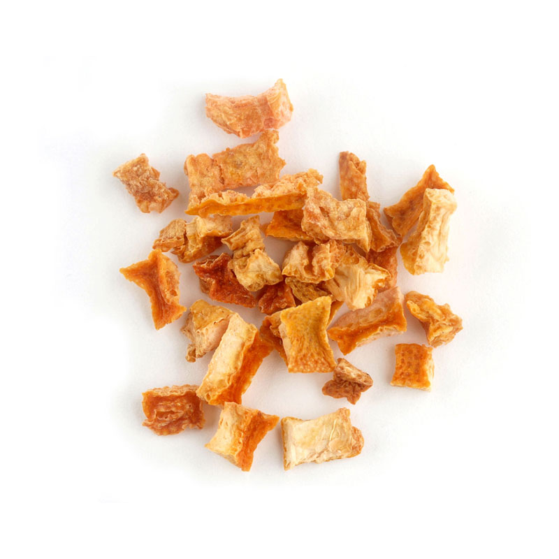 DICED ORANGE PEEL
