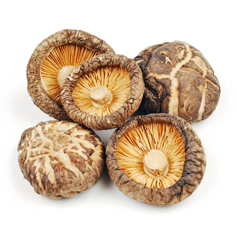 DRIED PREMIUM SHIITAKE MUSHROOMS