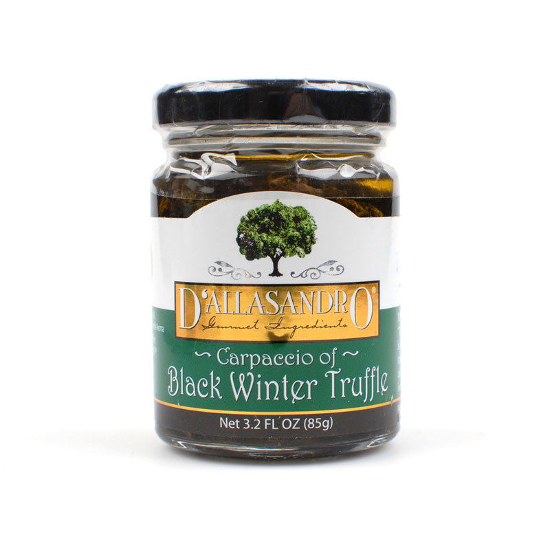 SLICED BLACK WINTER TRUFFLE