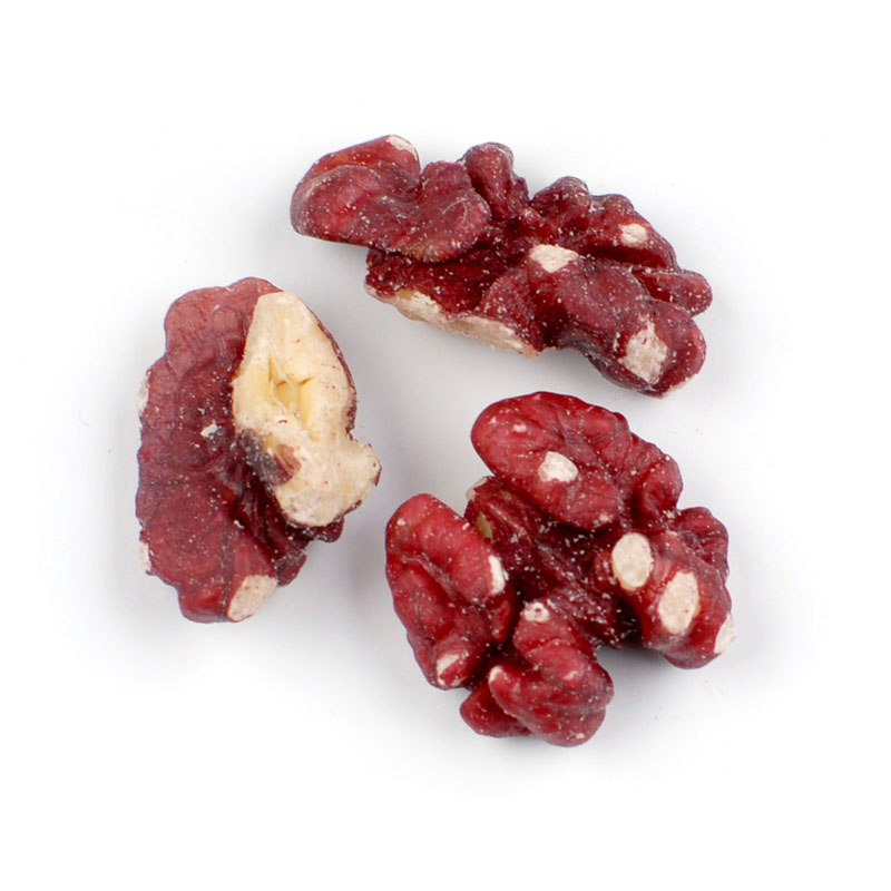 RAW RED WALNUT HALVES & PIECES*