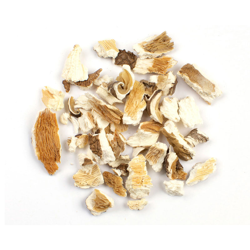 DRIED KIBBLED OYSTER MUSHROOMS
