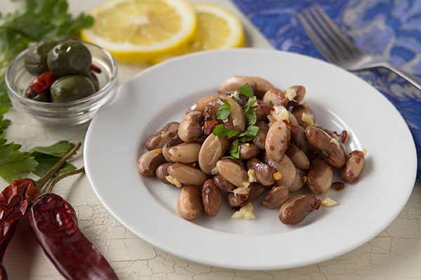 Spicy Italian Snow Cap Bean Salad