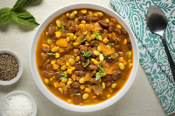 Porotos Granados (Chilean Bean Stew)