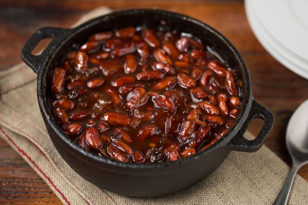 Spicy Baked Tongues Of Fire Beans