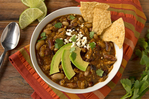 10-Bean Chicken Chili