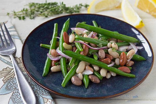 8-Bean and Green Bean Salad