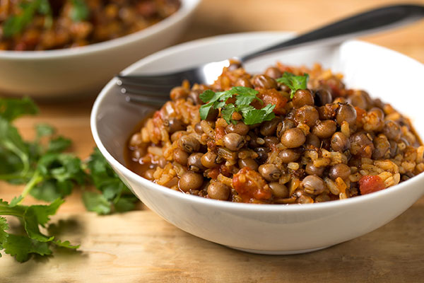 Rice and Pigeon Peas (Arroz con Gandules)
