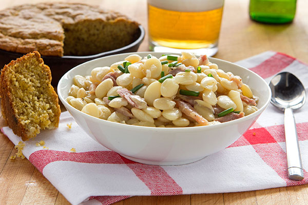 Butter Beans with Ham
