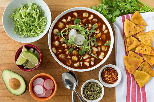 Traditional Red Pozole