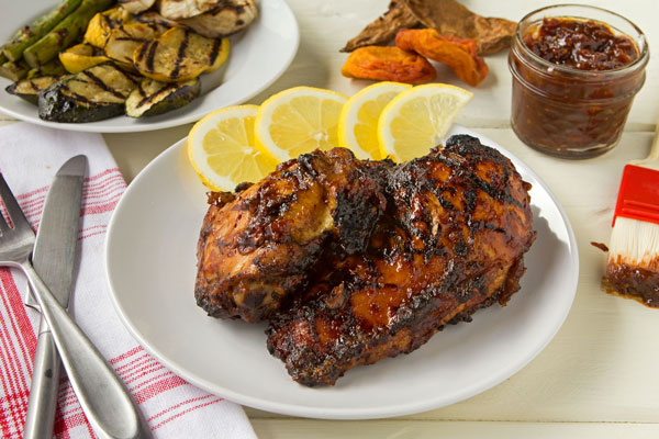 Chipotle-Peach BBQ Sauce