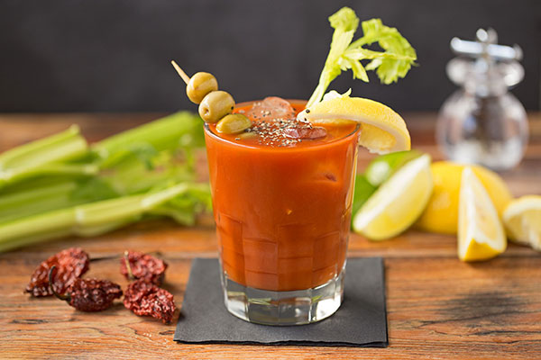 Ghostly Bloody Mary