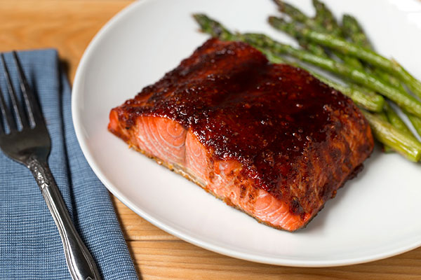 Smoky Chipotle Citrus-Glazed Salmon