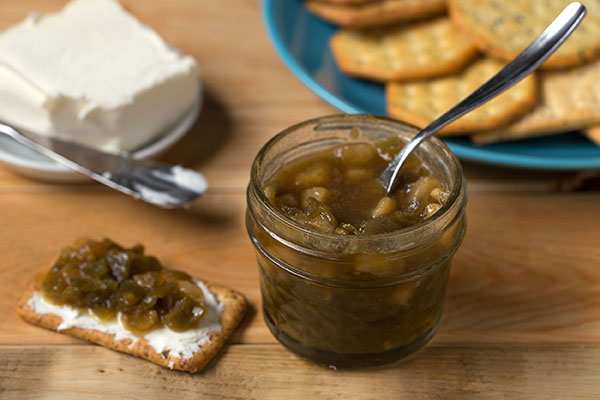 Anaheim Pepper and Pear Jam