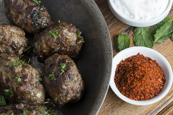 Kofte with Yogurt Sauce