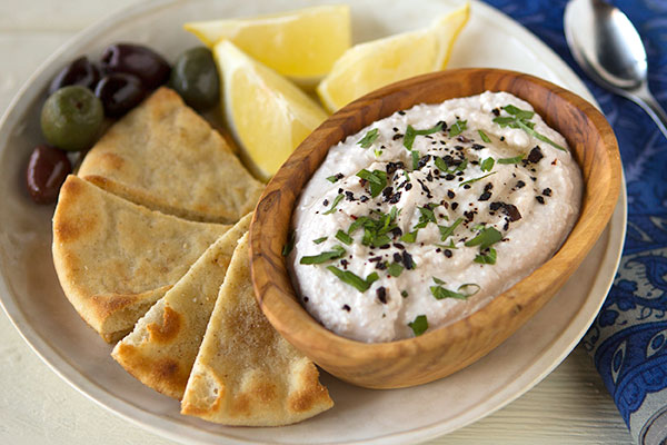 Turkish Feta-Walnut Dip with Urfa Biber Chile