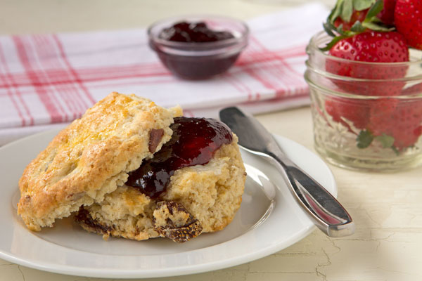 Strawberry-Pecan Scones
