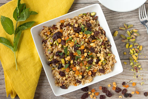Fruit Fusion Jeweled Rice Pilaf