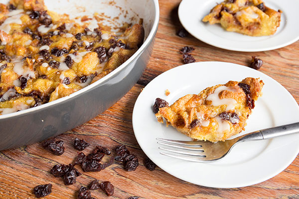 Sour Cherry Bread Pudding