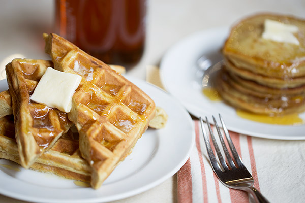 Gluten-Free Pancakes and Waffles