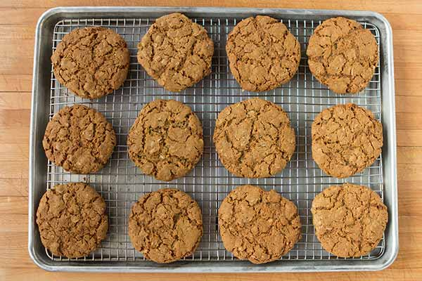 Flax Seed and Oatmeal Cookies