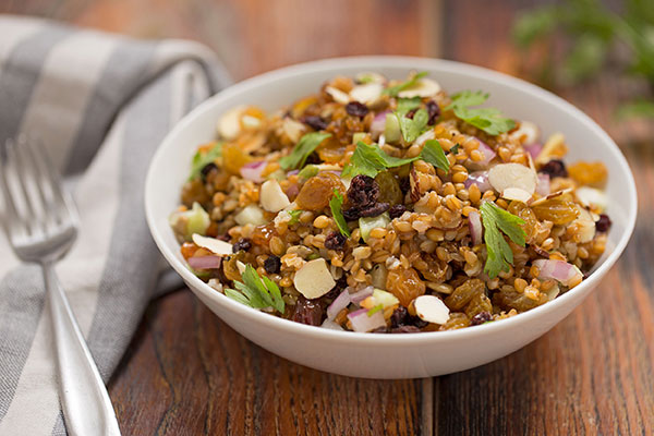 Autumn Cracked Freekeh Salad