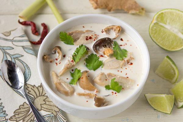 Tom Ka Gai (Thai Chicken Soup)