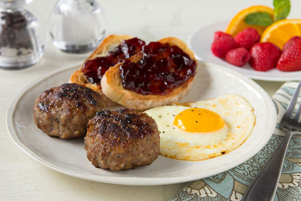 Savory Pork Breakfast Sausage