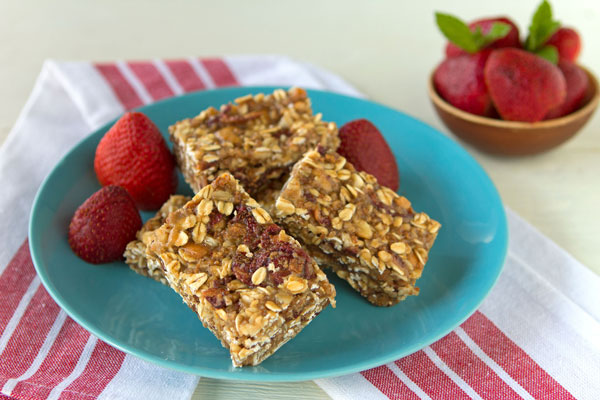 Strawberry Power Bars