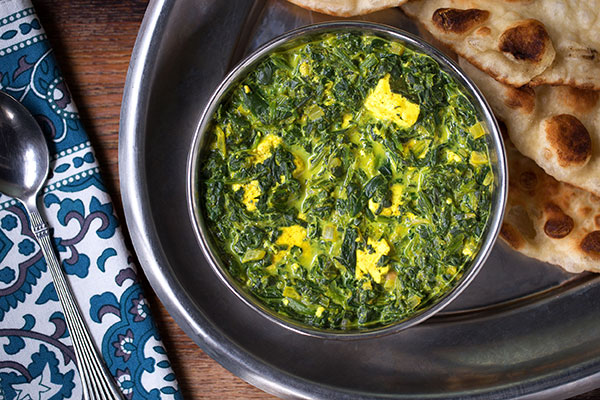 Curry Saag Paneer