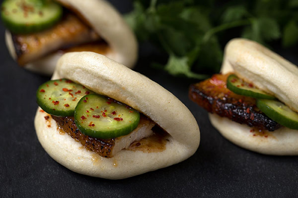 Korean BBQ Steamed Buns