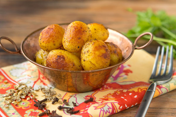 Pan-Fried Indian Potatoes