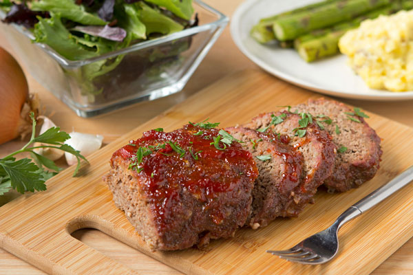 Tangy Ketchup-Glazed Meatloaf