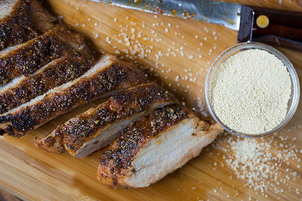 Honey Crusted Pork Tenderloin
