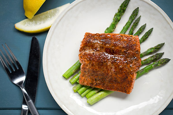 Broiled Salmon Filet