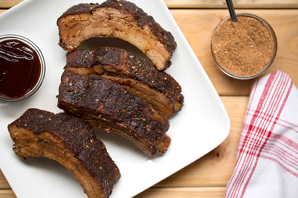 Ancho-Honey Barbecue Ribs
