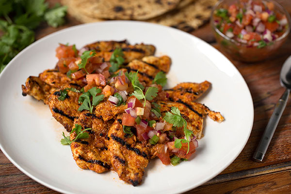 Pollo Asado (Grilled Chicken Breasts)