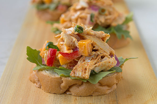 Smoky Pulled Turkey Salad