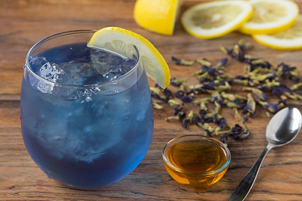 Butterfly Pea Flower Iced Tea