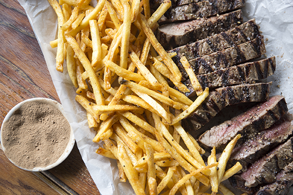 Steak Frites with Truffle Dust