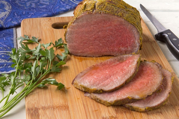 Mustard-Dill Crusted Beef Roast