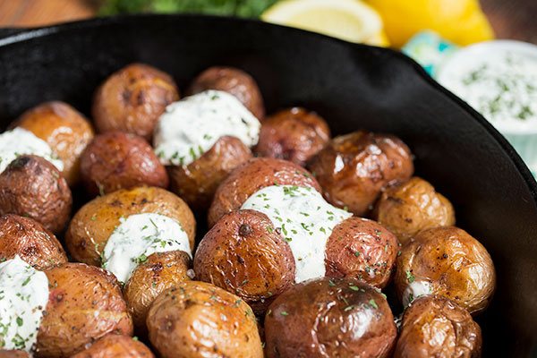 Parsley Cream Potatoes