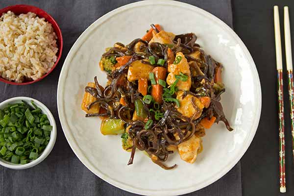 Wood Ear Stir-Fry