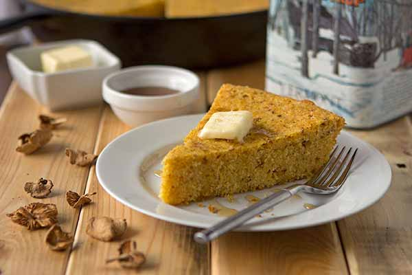 Candy Cap Maple Cornbread