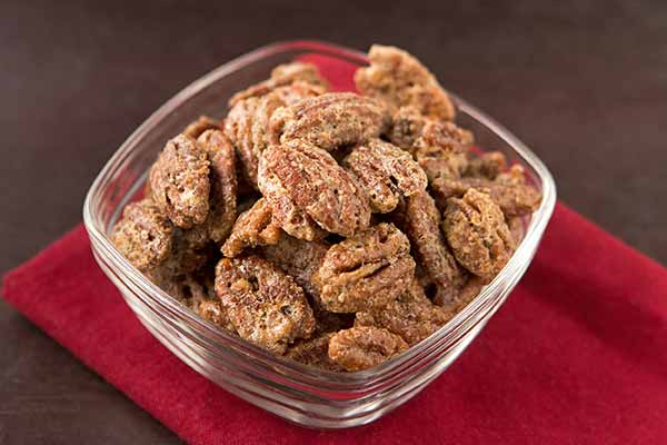 Roasted Cinnamon-Vanilla Pecans