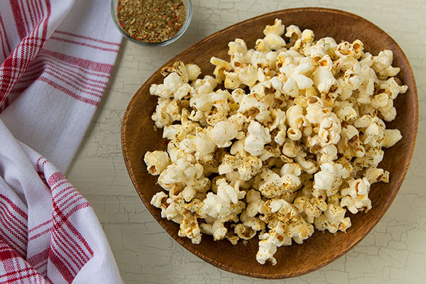 Salt-Free Stove Top Popcorn