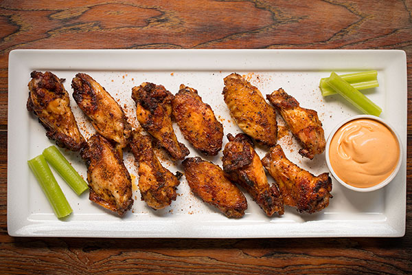 Smoky Chicken Wings
