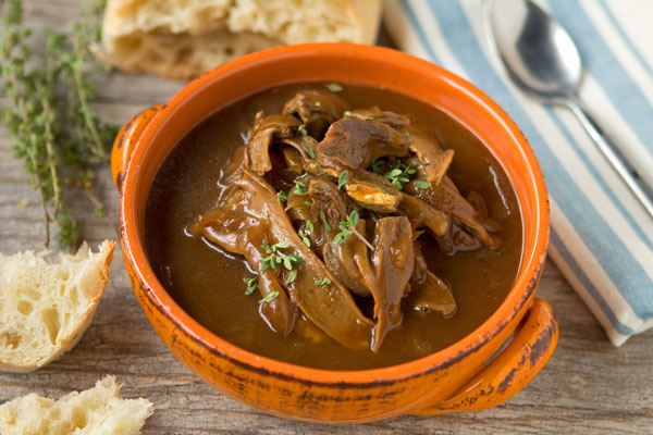 Porcini and Onion Soup