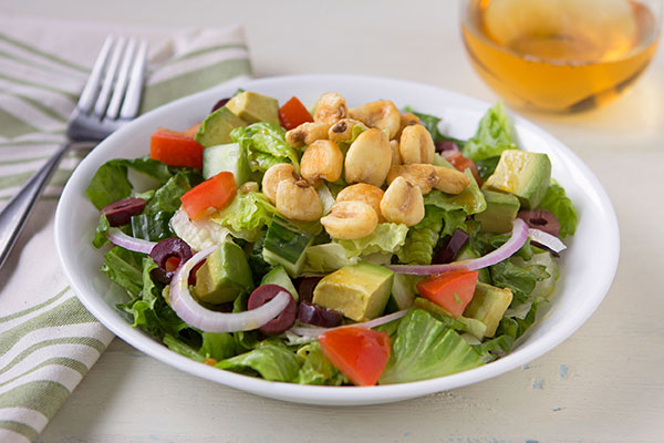 California Chopped Salad with Corn Nuts