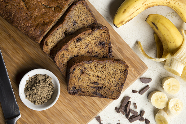 Cricket Banana Bread
